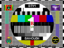 BTV1 Test Pattern Card